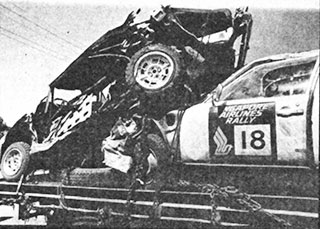 fiat and citroen after the accident