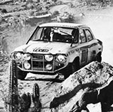 A 1970 World Cup Rally winning Ford Escort